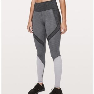 Lululemon early extension high rise tight
